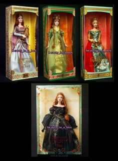 Bard Spellbound Lover Faerie Queen Aine Legends of Ireland Barbie Doll Celtic 4 #Mattel #DollswithClothingAccessories