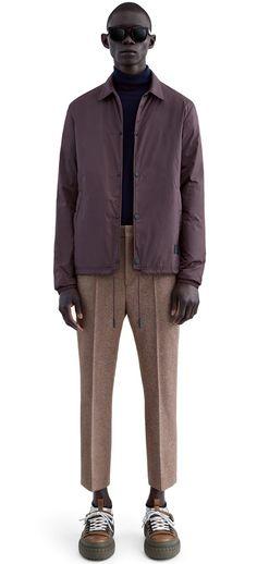 f9266be3d7a Acne Studios Tony Face w Grape Purple Water Repellent Jacket