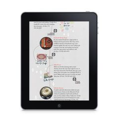 Endless Vacation iPad by Corinne Ferreira, via Behance