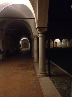 Conservatorio, chiostro. Mantova