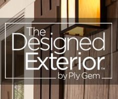 """Mastic Home Exteriors by Ply Gem is the """"Exterior Solution"""" that includes  vinyl siding, polymer shakes, replacement windows, shutters,  soffit, gutters and gutter protection."""