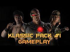 Mortal Kombat X: Klassic Pack #1 BRUTAL GAMEPLAYS! (HD, all 3 skins!) - YouTube