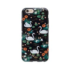 Rifle Paper Co. Swan Case iPhone 6/6S Cases designed by Anna Bond now in the sale at Northlight Homestore