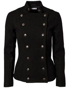 IDA SJÖSTEDT / GUARDIAN WOOL JACKET Looks like beccas jacket in pitch perfect need it in navy