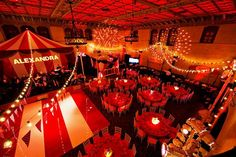 Vibrant Carnival Bat Mitzvah Theme Ideas // Hostess with the Mostess®