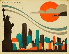 NEW YORK by JazzberryBlue