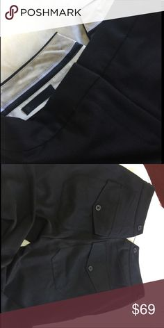 Karl Lagerfeld black trousers nwot Sz 6 Black straight leg trousers nwot Karl Lagerfeld Pants Straight Leg