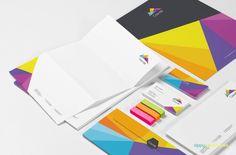 Stationery Branding Mockups Vol 1 - 9 PSD Corporate Identity Mockups
