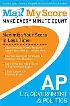 AP U.S. government & politics : maximize your score in less time *eBook*