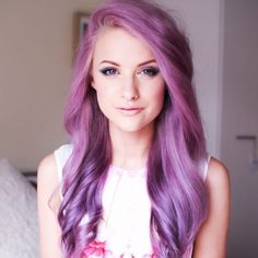 These 25 Purple Hairstyles Will Make You Want to Dye Your Hair via Brit + Co