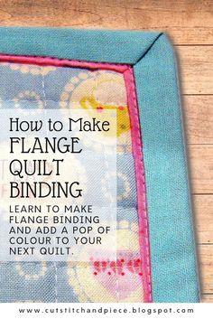 Quilting Blogs, Quilting Tutorials, Quilting Projects, Quilting Designs, Sewing Projects, Quilting Ideas, Quilt Design, Quilt Binding Tutorial, Sewing Binding