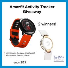 Want to track your activity & exercise routine? Enter to win 1 of 2 Amazfit Activity Tracker here!