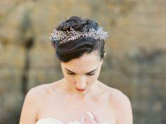 NEW 2015 Crystal Lavender Headpiece - Melinda Rose Design