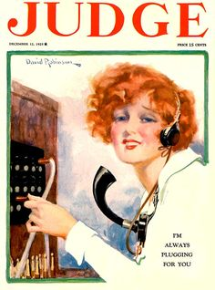 Judge Magazine 1925, December 12th.
