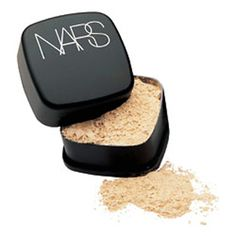 Nars Loose Powder in Snow, the only draw back with this- it isn't portable, a pain for travelling.