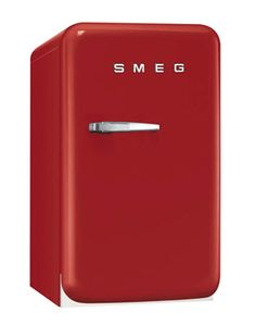 Smeg has a cool line of 50s style mini fridges available.