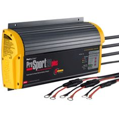 ProMariner ProSport 20 Plus Gen 3 Heavy Duty Recreational Series On-Board Marine Battery Charger - 20 Amp - 3 Bank