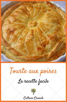 French Desserts, Sweet Tarts, Apple Pie, Food And Drink, Healthy Eating, Yummy Food, Nutrition, Fruit, Cooking