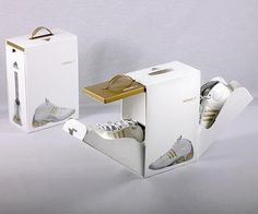 love Adidas' new shoe packaging. @Joseph Stroh loves cool packaging
