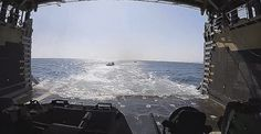 Take The Plunge Into A Mock Assault On A Korean Beach From An Amphibious Vehicle's POV