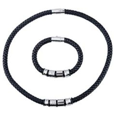 braided leather bracelets beads - Google Search