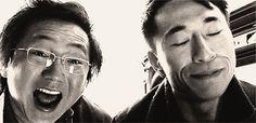 Hiro and Ando (NBC's Heroes)