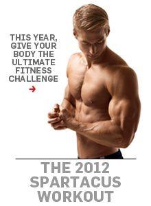 Men's Health Spartacus Workout....