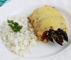 Vaníliakrémes-kakaós piskótatekercs Recept képpel - Mindmegette.hu - Receptek Bacon, Grains, Rice, Lunch, Chicken, Food, Eat Lunch, Essen, Meals