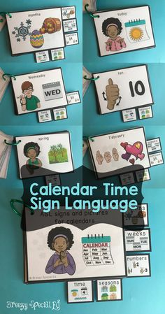 The tabs and size of these cards make it easy to hang by your calendar area so that these signs are at your fingertips when you need them.