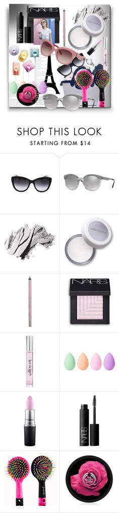 """""""contest-SMARTBUYGLASSES"""" by ilona-828 ❤ liked on Polyvore featuring beauty, Dolce&Gabbana, Versace, Bobbi Brown Cosmetics, Urban Decay, NARS Cosmetics, Kate Spade, beautyblender, MAC Cosmetics and beautiful"""