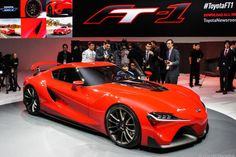 #Toyota FT-1 marks a return to cool At the 2014 Detroit auto show, Toyota unveiled its FT-1 concept car, which signals a return to dramatic design.