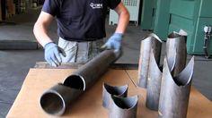strutture con tubi in acciaio   CMM laser