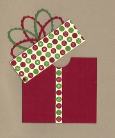 Christmas Gift Card #1 2012 by Penny Strawberry - Cards and Paper Crafts at Splitcoaststampers