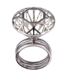 THE ENGAGEMENT #RING - #SILVER VERSION BY #LAMANDRAGORAJEWELRY #jewelry #jewels #fashion #rings #cool #accessory