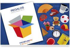 Portada para el nuevo catálogo de regalos 2012 de Iniciativas de Marketing.