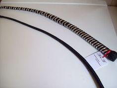 Frusta con punte intercambiabili nera ed argento (71)