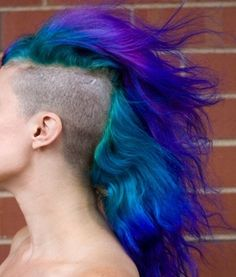Meet The World's Tallest Mohawk And 10 Other Huge, Crazy, Colorful Hairdos My Little Pony Mohawk – The Frisky