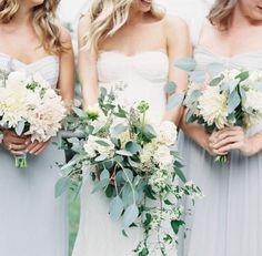 Cascading bouquet - the Knot