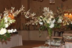 Food tables , New Orleans Country Club