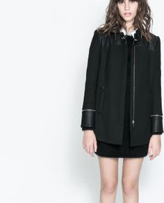 CASACO COMPRIDO da Zara (59,95€)