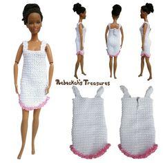 Fashion Doll Nightgown Pattern