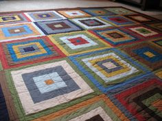 Rob quilt top | Flickr - Photo Sharing!