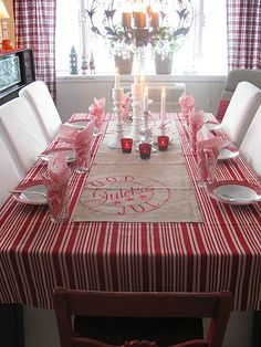 Are your table linens ready for Christmas? Need your tablecloths cleaned before or after the holidays? Call Rite Cleaners and they can help! Merry Christmas In Swedish, Norwegian Christmas, Scandinavian Christmas, Winter Christmas, Christmas Time, Christmas Crafts, Christmas Decorations, Christmas Ideas, Simple Christmas