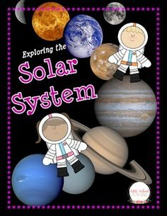 This is a fantastic unit for introducing the Solar System to your students! This unit contains: •Fact Cards for the Planets, Sun, and Moon •Pocket for Fact Cards •Label the Solar System •Match the Planet •Inner Planets and Outer Planets •Solar System Dominoes Set •Sun Reading Passage with Questions •Mercury Reading Passage with Questions •Venus Reading Passage with Questions •Earth Reading Passage with Questions •Mars Reading Passage with Questions •Jupiter Reading Passag...