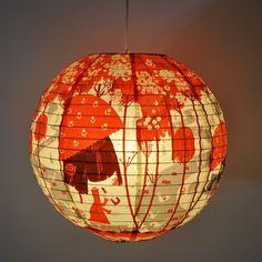 Blue Q Paper Globe Lanterns