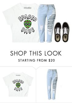 """👽👽"" by jasloves5sos ❤ liked on Polyvore featuring Vans"