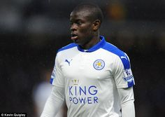 Kante was a key figure for Leicester as they stunned the world by winning the Premier League