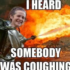 Nip It In The Bud, Carol - The Walking Dead Memes that live on after the characters and season ended. Memes are the REAL zombies of the show. Walking Dead Funny, Walking Dead Zombies, Glenn The Walking Dead, The Walk Dead, Walking Dead Season 4, Real Zombies, Z Nation, Twd Memes, Memes Humor