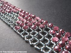 Beading Tutorial: Square Openwork RAW        Although right