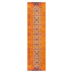 Safavieh Catalina Rug - Orange/Multi, hallway runner